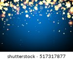 blue festive background with... | Shutterstock .eps vector #517317877
