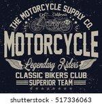 california classic bikers club  ...   Shutterstock .eps vector #517336063