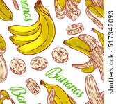cute seamless pattern of... | Shutterstock .eps vector #517342093