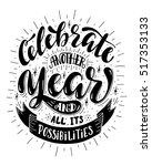 celebrate another year and all... | Shutterstock .eps vector #517353133
