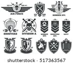 Vintage Military Labels And...