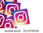 oxford  uk   november 17th 2016 ... | Shutterstock . vector #517370533