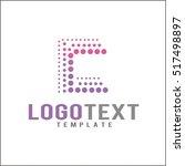 letter c logo icon design... | Shutterstock .eps vector #517498897