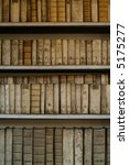 very old books in a shelf | Shutterstock . vector #5175277