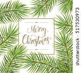holiday pattern. christmas... | Shutterstock . vector #517530973