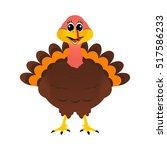 turkey pilgrimin on...   Shutterstock .eps vector #517586233