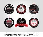 black friday. shopping. price... | Shutterstock .eps vector #517595617