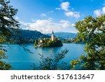 Lake Bled With St. Marys Churc...