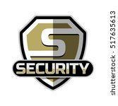 security logo badge vector... | Shutterstock .eps vector #517635613