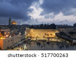 The Wailing Wall And The Dome...