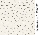 vector seamless pattern.... | Shutterstock .eps vector #517784977
