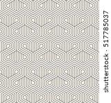vector seamless pattern. modern ... | Shutterstock .eps vector #517785037