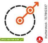 round area exit eps vector... | Shutterstock .eps vector #517842337