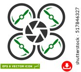 shutter drone eps vector... | Shutterstock .eps vector #517846327