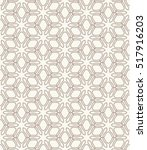 seamless geometric line pattern ... | Shutterstock .eps vector #517916203