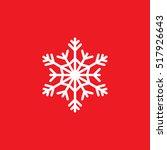cold symbol  snowflake line... | Shutterstock .eps vector #517926643