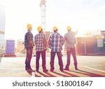 business  building  teamwork... | Shutterstock . vector #518001847