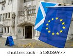 european union and scottish... | Shutterstock . vector #518036977