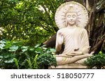 buddha statue amulets of... | Shutterstock . vector #518050777