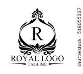 royal logo | Shutterstock .eps vector #518055337