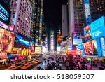 new york city   nov 28  times... | Shutterstock . vector #518059507