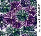 seamless background. flowers.... | Shutterstock . vector #518149003