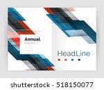 modern line design  motion... | Shutterstock .eps vector #518150077