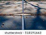 abstract tennis court center... | Shutterstock . vector #518191663