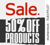 super sale  paper banner  sale...   Shutterstock .eps vector #518195137