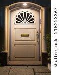 the beautiful modern door ... | Shutterstock . vector #518253367