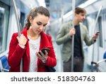 Ordinary Passengers In Metro...