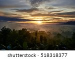 sunrise in indonesia | Shutterstock . vector #518318377