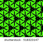 abstract geometric seamless... | Shutterstock .eps vector #518323147