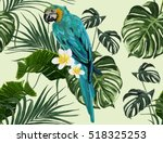 beautiful seamless vector... | Shutterstock .eps vector #518325253