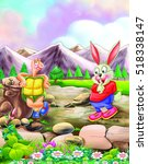 Hare And The Tortoise Story