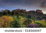 Edinburgh Castle In Autumn