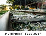 the railway station at hsipaw ... | Shutterstock . vector #518368867