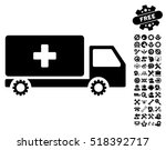service car pictograph with...   Shutterstock .eps vector #518392717