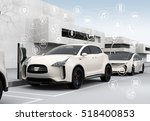 connected cars and autonomous... | Shutterstock . vector #518400853