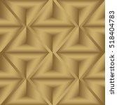triangles seamless pattern. 3d... | Shutterstock .eps vector #518404783