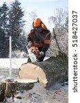 Proffesional Lumberjack Cuttin...