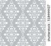 vector seamless endless pattern.... | Shutterstock .eps vector #518444437