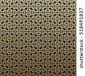 golden metallic background with ... | Shutterstock .eps vector #518491837