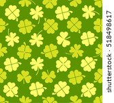 Clover Leaf Seamless Vector...