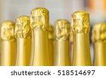 Big Amount Of Golden Champagne...