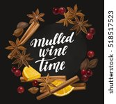 Mulled Wine Time. Decorative...
