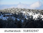 Troodos Winter Scenery Cyprus