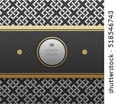 horizontal banner template on...   Shutterstock .eps vector #518546743