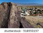 Petroglyphs And Nearby Housing...