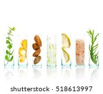 homemade skin care and body... | Shutterstock . vector #518613997